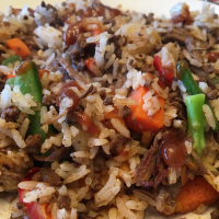 Leftovers Rice Bowl